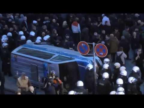Köln 2014: HoGeSa-Demo in Köln eskaliert vollständi ...