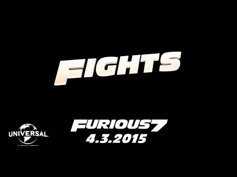 Furious 7 (Road to Furious 7 'Fights')