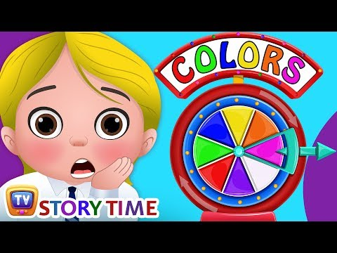 Cussly and the Colors - ChuChuTV Storytime Good Habits Bedtime Stories for Kids