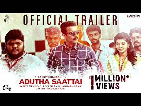 Adutha Saattai Tamil movie Official Trailer