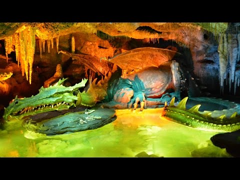 Dragon's Lair in Sleeping Beauty Castle, Disneyland Paris – Full Experience (La Tanière du Dragon)