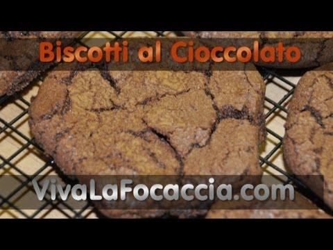video ricetta: biscotti morbidi al cioccolato.
