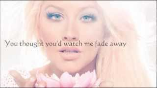 Christina Aguilera vídeo clipe Army Of Me (Lyric Video)