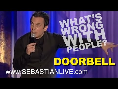 Comedian Sebastian Maniscalco on having your doorbell ring 20 years ago vs. now