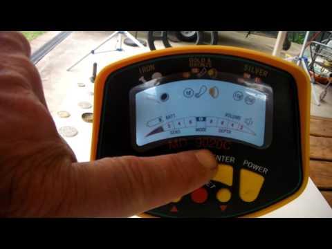 MD 9020C Metal detector