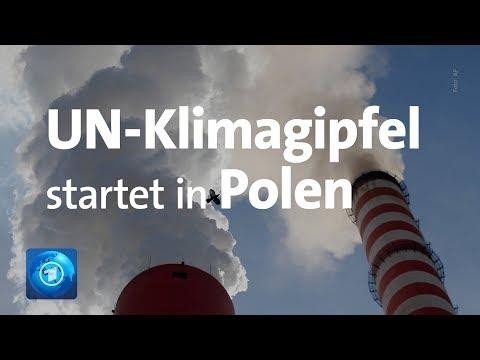Polen: Der UN-Klimagipfel startet in Kattowitz