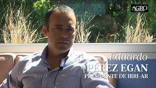 Eduardo Pérez Egan - Presidente de IRRI-AR