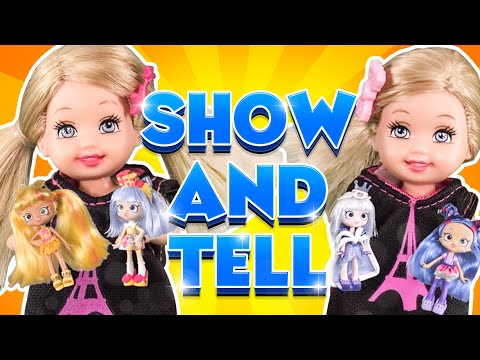 Barbie - Shopkins Show and Tell | Ep.102
