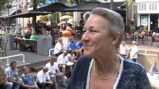 Veiliger sluizen en stadspodium in Harlingen