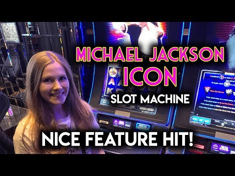 Michael Jackson Icon Slot Machine! BIG Wild Feature Hit!!