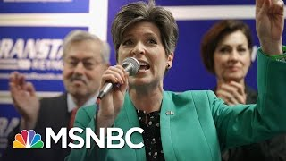 Republican Senator Joni Ernst Won't Defend Donald Trump | The Last Word | MSNBC