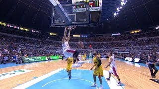 Aguilar with the Manila Classico Throwdown! | PBA Governors' Cup 2016