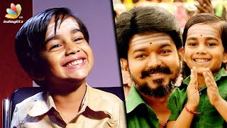 I'm a HERO but I dont have a HEROINE : Mersal Child Actor Aksath | Vijay Son Interview