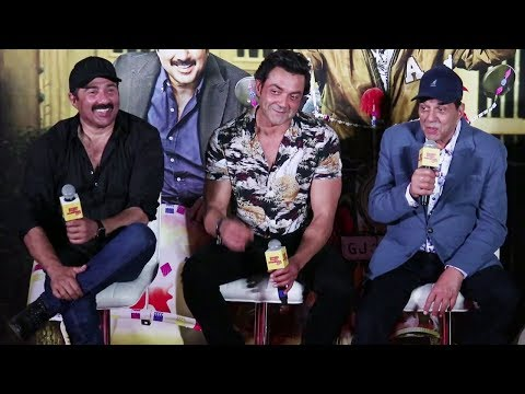 Dharmendra, Sunny Deol, Bobby Deol's FUNNY MOMENTS