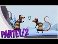 Gameplay Ice Age 3 Dawn Of The Dinosaurs Level 1 parte2