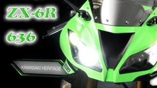 1. NEW Kawasaki Ninja ZX-6R (636): Spec. & Performance
