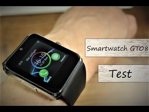 20€ China Smartwatch GT08 im Test (видео)