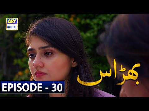Bharaas Episode 30 [Subtitle Eng] - 1st December 2020 - ARY Digital Drama