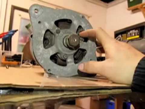 Inside an Inverter Generator, Car Alternator, AC