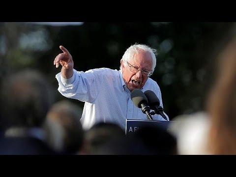 ΗΠΑ: Παραμένει στην κούρσα ο Μπέρνι Σάντερς, «θα συνεργαστεί με την Κλίντον»