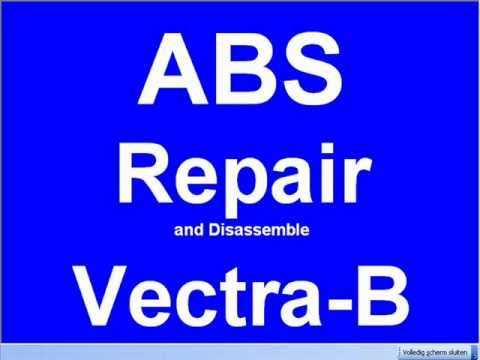 Disassemble Repair ABS Pump modul Vauxhall Vectra-B Omega Kelsey Hayes S108196002 L J M EBC430 ECU