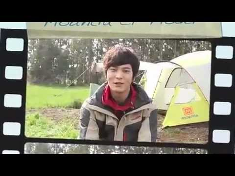 Joo Won (주원) - Mountia CF Filming (BTS) in Jeju island (видео)