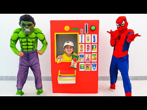 Vlad and Niki - funny toys stories with costumes for kids