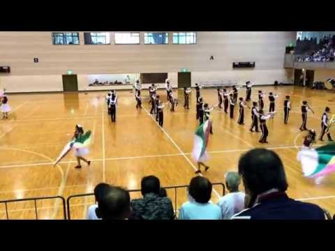 2015-08-21 山梨県マーチングコンテスト 塩山中学校 その2