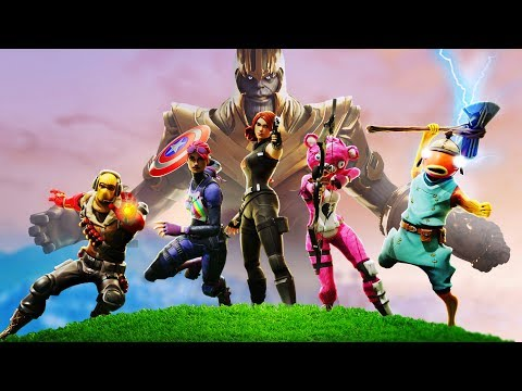 AVENGERS: LATEGAME | A Fortnite Film