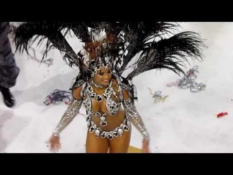 Impresionantes Bailarinas del Carnaval de Rio