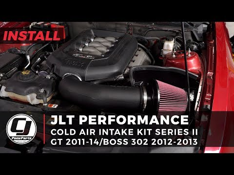 More Power For Your Mustang GT & Boss 302! JLT Performance Series II Cold Air Intake 2011-2014 GT