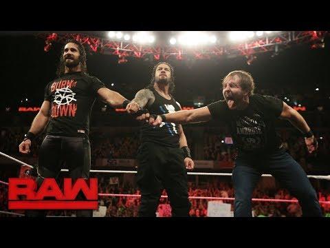 Video The Shield reunite: Raw, Oct. 9, 2017 download in MP3, 3GP, MP4, WEBM, AVI, FLV January 2017