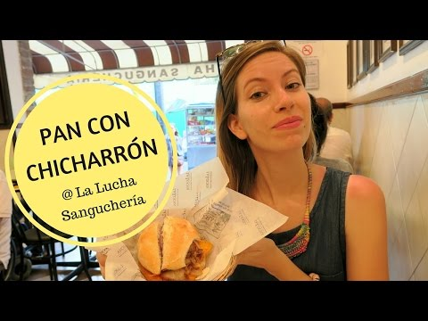 Pan con Chicharrón at La Lucha Sanguchería