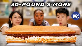 We Made A Giant 30-Pound S'More For Quinta by Tasty