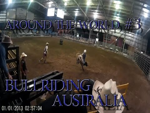 Travel around the world #3 Rodeo Bull Riding Rockhampton Great Western Hotel