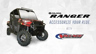 9. Village Motorsports 2019 Polaris® Ranger Crew® XP 1000 EPS Premium Accessory Build