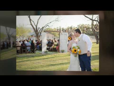 Rustic Country Sunflower Wedding | The Farm at South Mountai (видео)