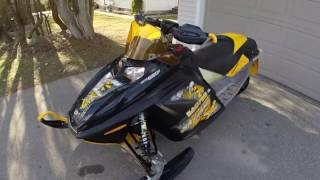 7. 2006 Ski-Doo MXZ 550X Cold Start