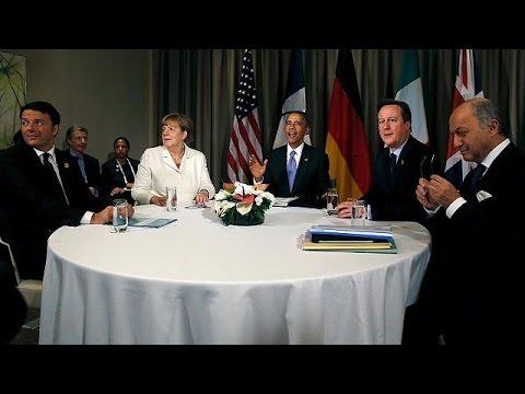 Ομπάμα: «Όχι» σε χερσαίες επιχειρήσεις- Πούτιν: «Τζιχαντιστές χρηματοδοτούνται και από χώρες της…