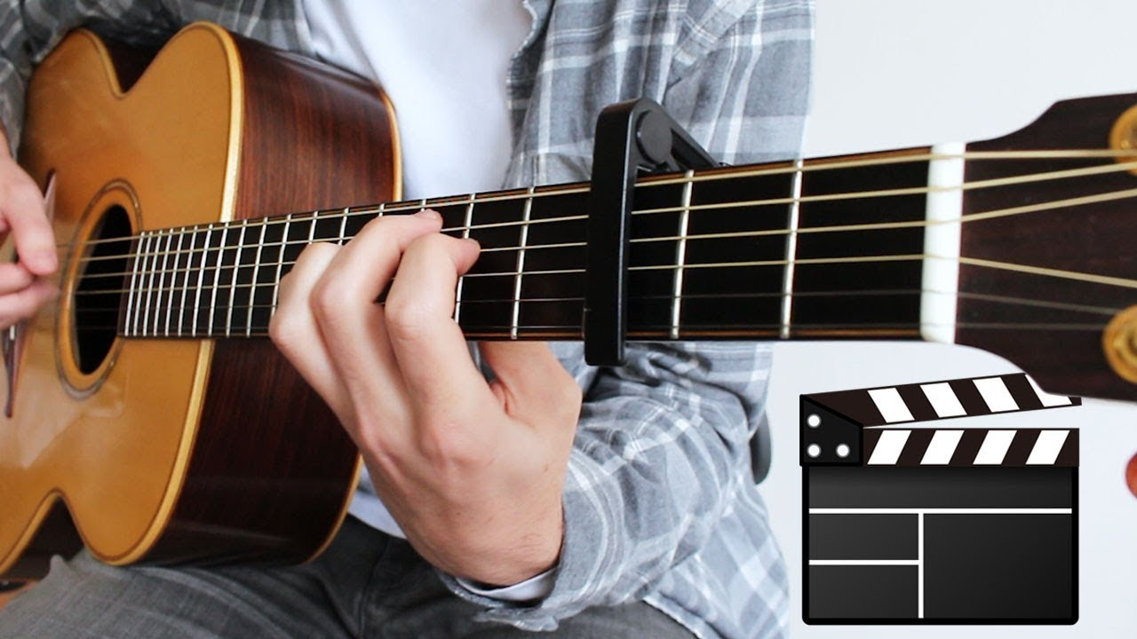 7 MOVIE Songs to play on Guitar (FINGERSTYLE)