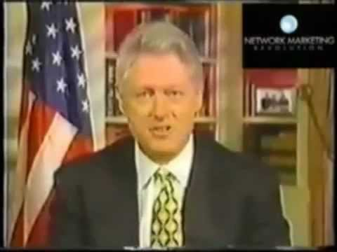 Bill Clinton Talks about Network Marketing..mp4