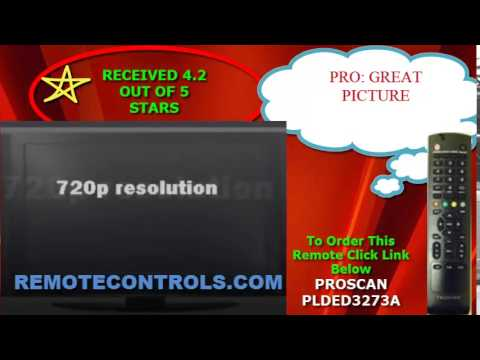 Review Proscan - 720p LED HDTV - PLDED3273A