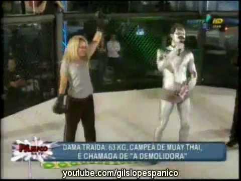 Pânico Na TV 11 07 2010_Barraco de Sorocaba Juliana x Vivian A Luta (видео)