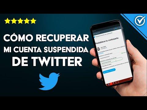 Cómo Reactivar o Recuperar mi Cuenta de Twitter Suspendida, si Olvide la Contraseña