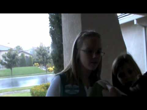 girl scouts and brownie cookie sale