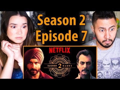 SACRED GAMES | Season 2 Episode 7 | Saif Ali Khan | Nawazuddin Siddiqui | Reaction!
