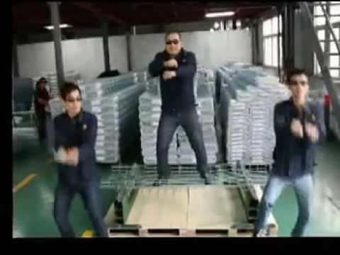 Gangnam Style (Vichnet Style)-Basket Cable Trays installation movie
