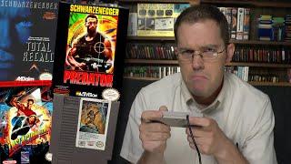 Schwarzenegger Games (NES) - Angry Video Game Nerd (AVGN)