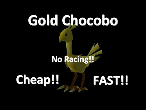 FF7 - How To Get A Gold Chocobo Faster, Sooner & Cheaper Without Racing!