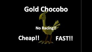 Video FF7 - How To Get A Gold Chocobo Faster, Sooner & Cheaper Without Racing! MP3, 3GP, MP4, WEBM, AVI, FLV Desember 2018